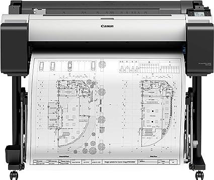 Canon imagePROGRAF TM-305 - Impresora de Gran Formato (2400 x 1200 dpi, Inyección de Tinta térmica, HP-GL/2,HP-RTL, Negro, Cian, Magenta, Negro Mate, Amarillo, PF-06, A0 (841 x 1189 mm)): Canon: Amazon.es: Informática