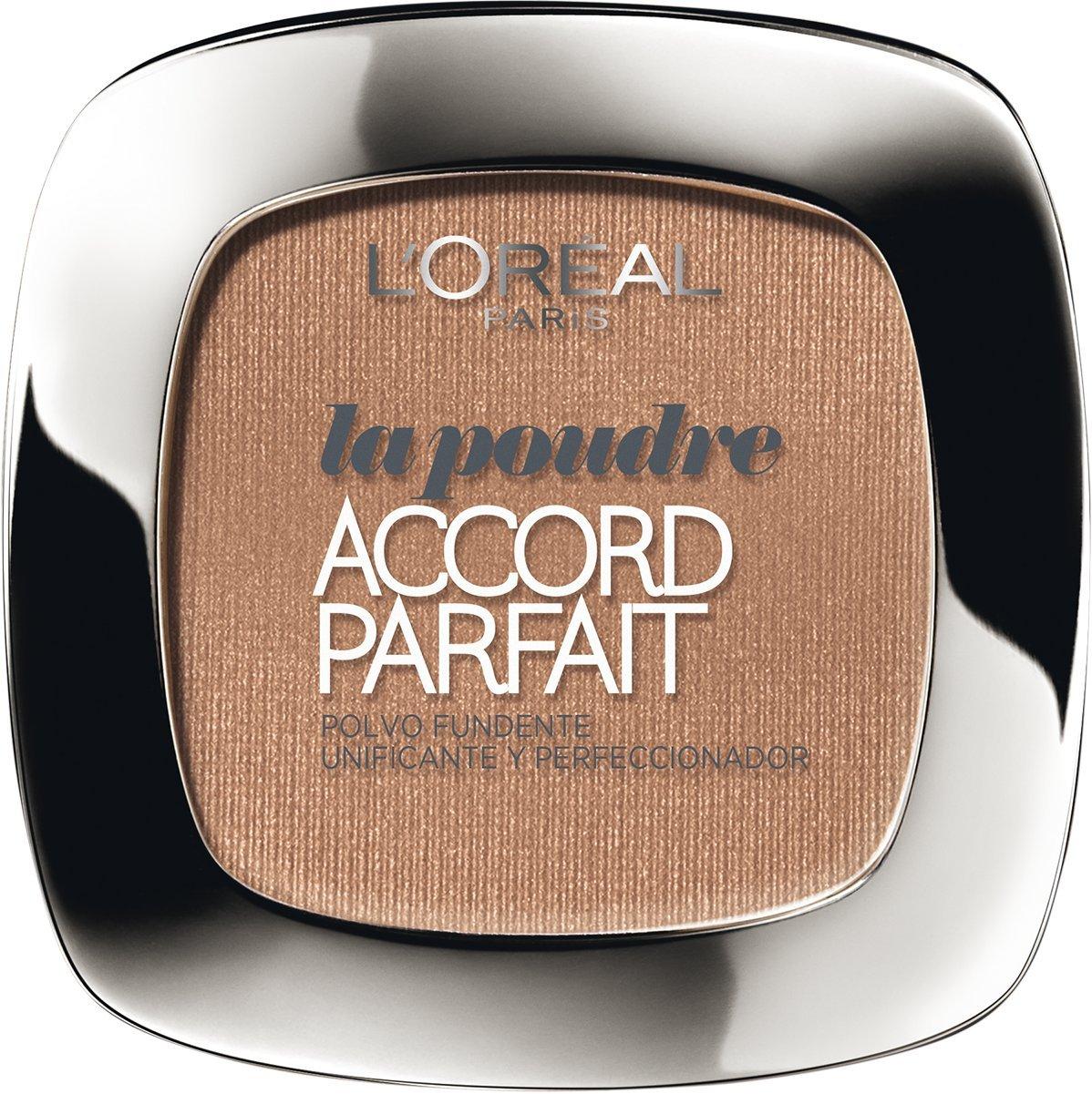 L'Oreal Paris Accord Perfect Polvo Compacto, Tono: Sable Doré D5 L'Oreal 56442