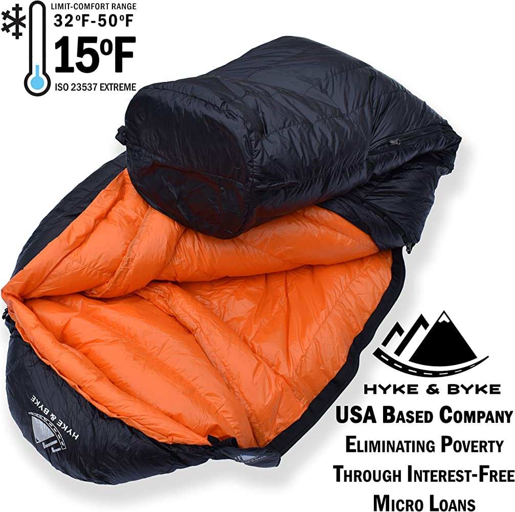 0.5kg//1.1lbs 650 Fill Power Warm Weather Compact Rectangular Sleeping Bag with Compression Bag for Adult Women ATEPA Ultralight Duck Down Sleeping Bag Girls Boys for Backpacking Men