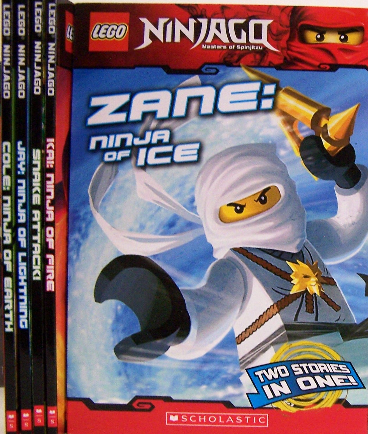Lego Ninjago Chapter Books Pack (Books 1-5) (Zane Ninja of Ice / Kai Ninja of Fire / Snake Attack / Jay Ninja of LIghtning / Cole Ninja of Earth) pdf