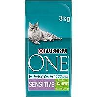 Purina One Bifensis Sensitive Kattendroog Voering: Rijk Aan Kalkoen En Rijst, Met Omega 6 (4 X 3 Kg)