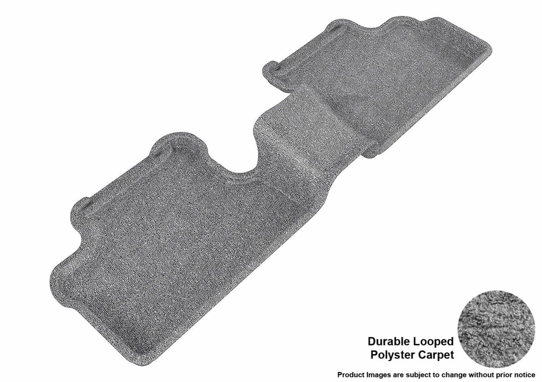 L1MZ01302209 3D MAXpider Complete Set Custom Fit Floor Mat for Select Mazda3 Models Classic Carpet Black