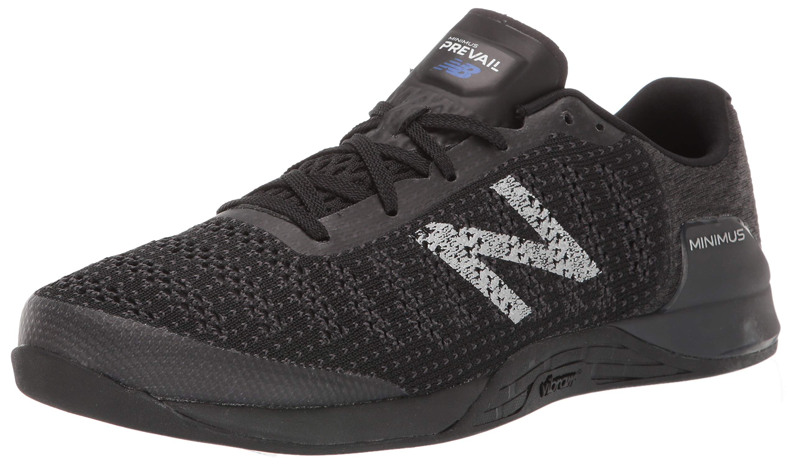 New Balance Men's Prevail V1 Minimus Track and Field Shoe, Black/Magnet, 10 M US by New Balance