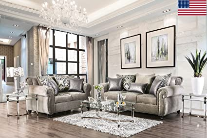 Amazon.com: Esofastore Luxurious Look Living Room Furniture ...