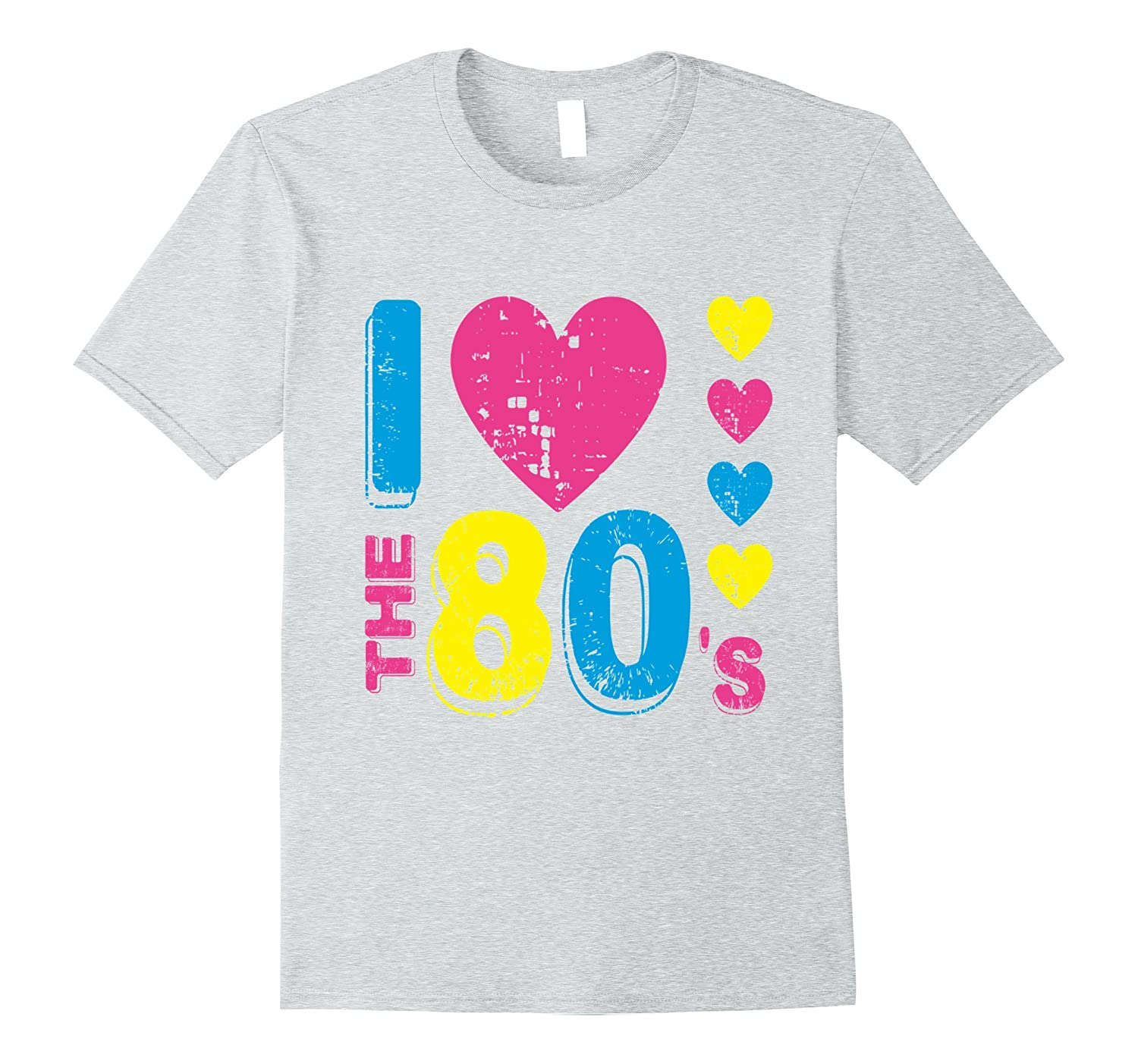 Womens I Love The 80's T shirt 80s clothes for women costume-ah my shirt one gift
