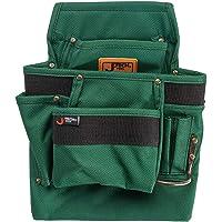 Jetech 3 Pocket Tool Pouch - Heavy Duty Waist Belt Hanging Utility Bag