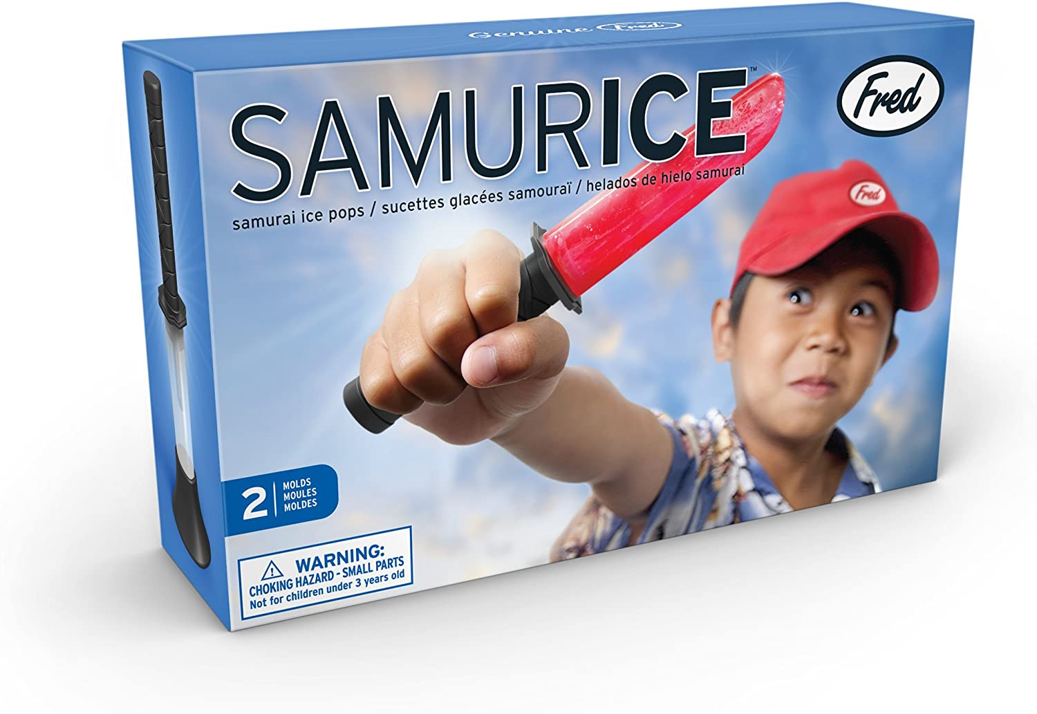 Fred SAMURICE Samurai Ice Lolly Moulds