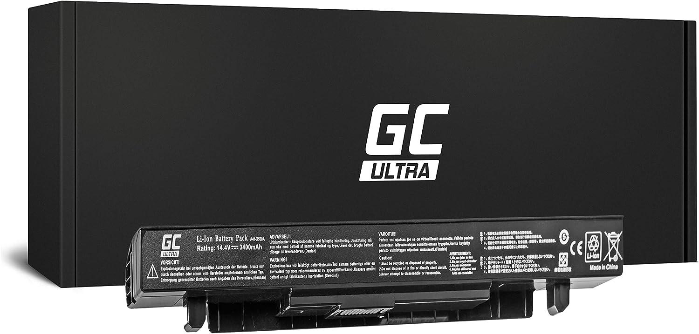 Green Cell/® PRO Extended A41-X550A S/érie Batterie pour ASUS X550 X550C X550CA X550CC X550CL X550E X550L X550LN X550V X550VB X550VC X550VL Ordinateur PC Portable Les Cellules Samsung SDI, 5200mAh