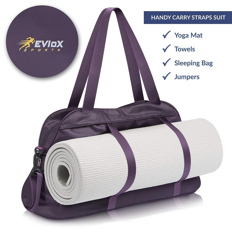 EVIoX - Bolsa de Deporte para Mujer, Incluye Toalla de Microfibra para Deportes, Bolsa de Viaje para Fin de Semana o Fin de Semana, Juego Cualquier ...