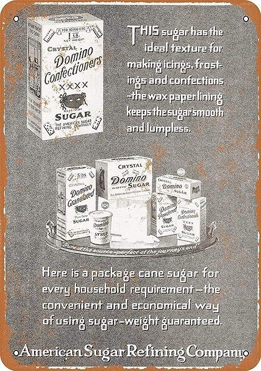 Domino Confectioners Sugar Póster De Pared Metal Retro Placa ...