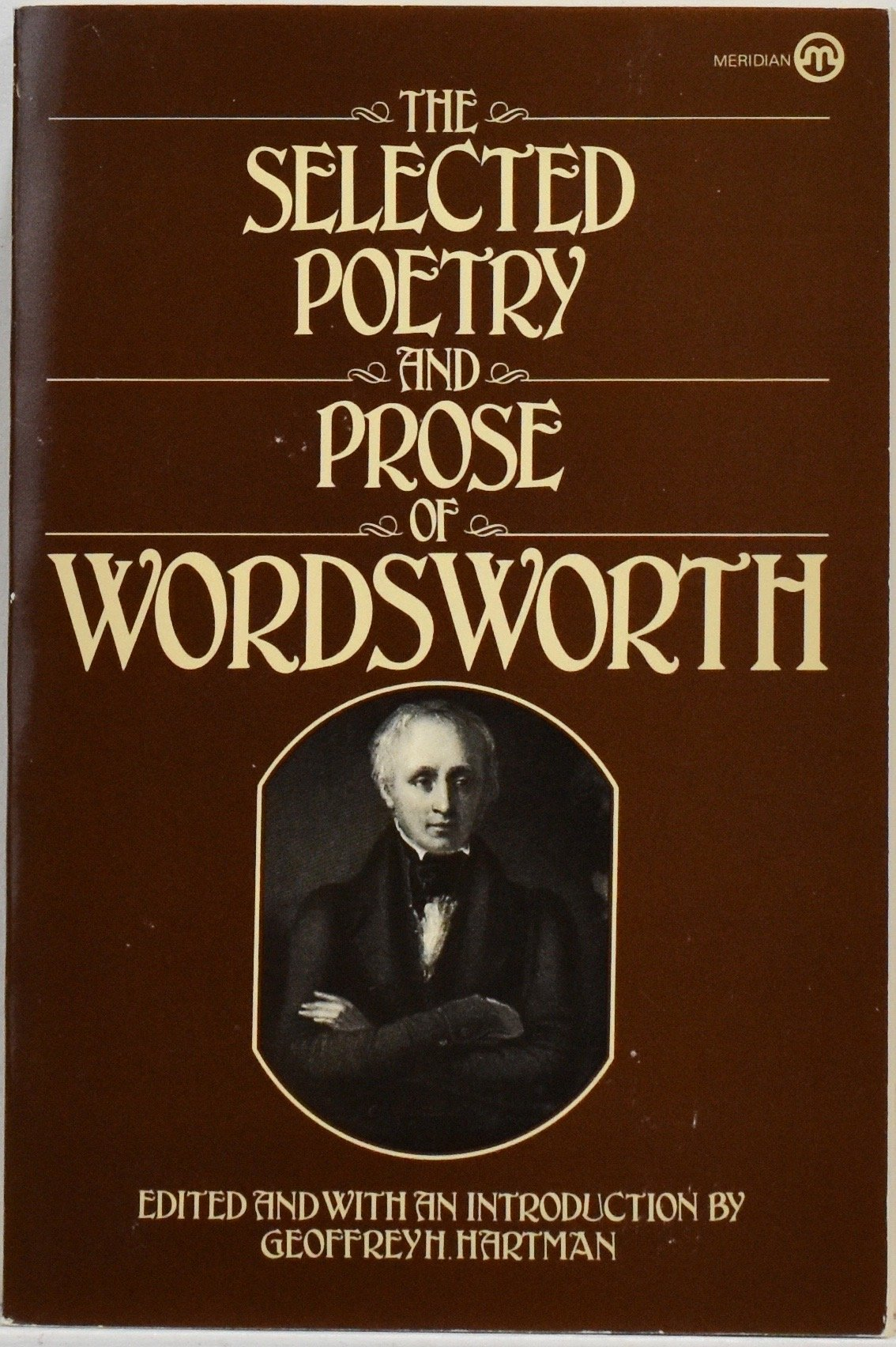 William Wordsworth Selected Poetry and Prose: Geoffrey H Hartman:  Amazon.com: Books