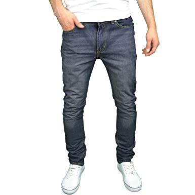 386baac6 SoulStar Mens Slim Fit Straight Leg Jeans: Amazon.co.uk: Clothing