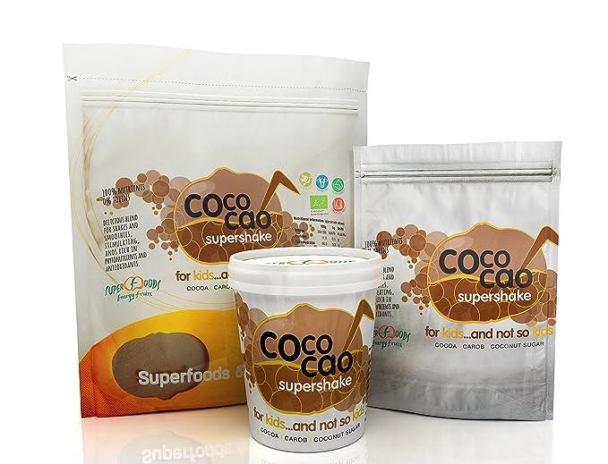 Energy Feelings Coco Cao Ecológico - 3 Paquetes de 150 gr - Total: 450 gr: Amazon.es: Salud y cuidado personal