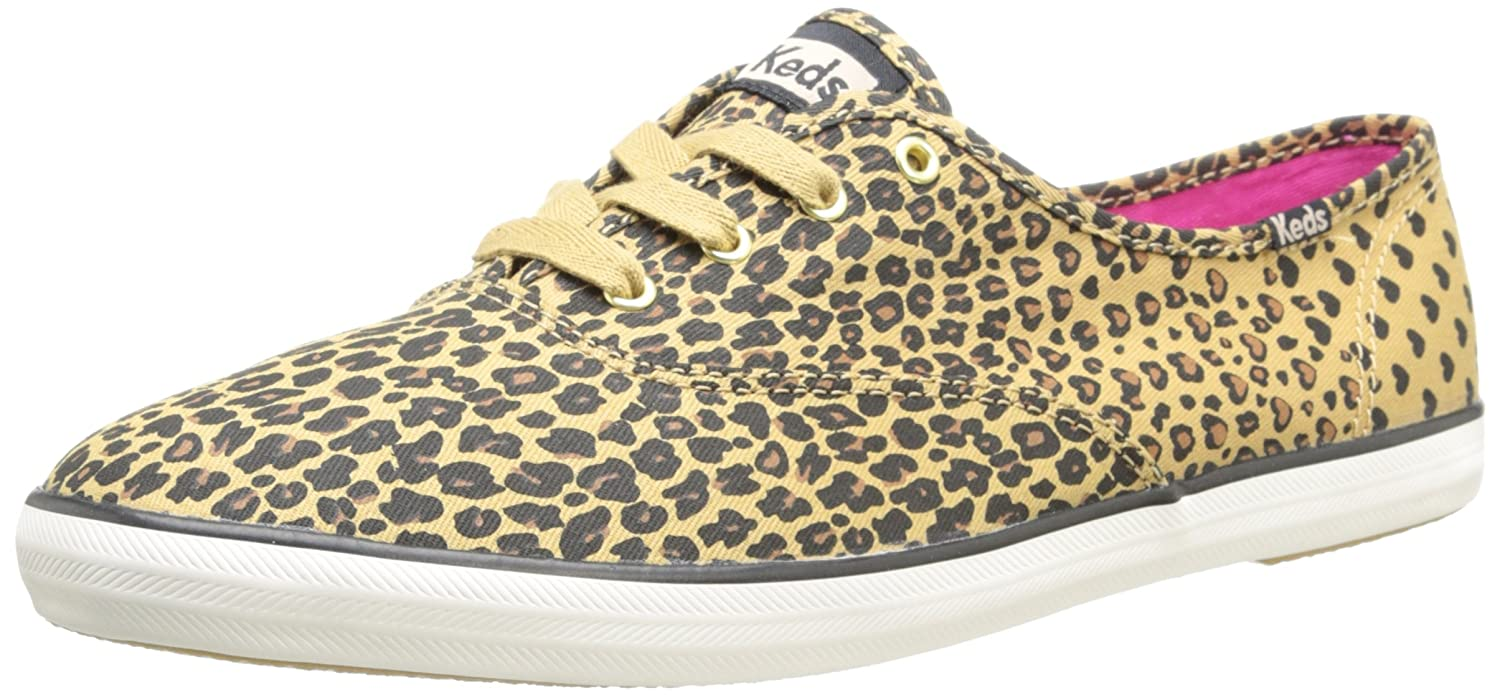 100 high quality Keds CH LEOPARD HEART Beige Shoes Low top trainers Women US 5 5 6 5 7 8 8 5