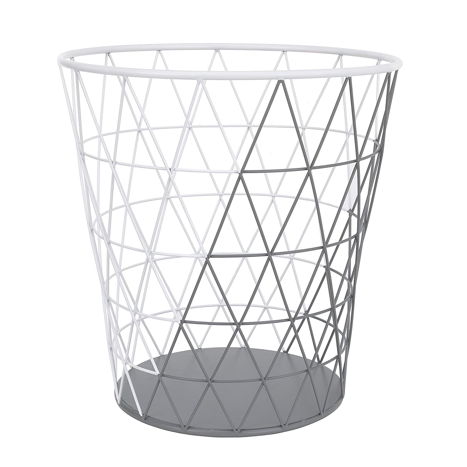 Petunia Pickle Bottom Southwest Skies Wire Clothes Hamper, Gray/White Crown Crafts Infant Products 7543188