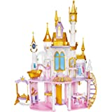 Disney Princess Ultimate Celebration Castle, 4 Feet Tall Doll House with Furniture and Accessories, Musical Fireworks Light S