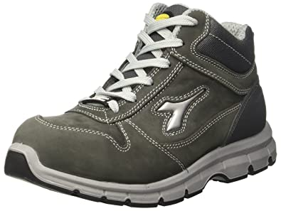 Diadora - Run High S3, zapatos de trabajo Unisex adulto, Gris (Grigio Castello