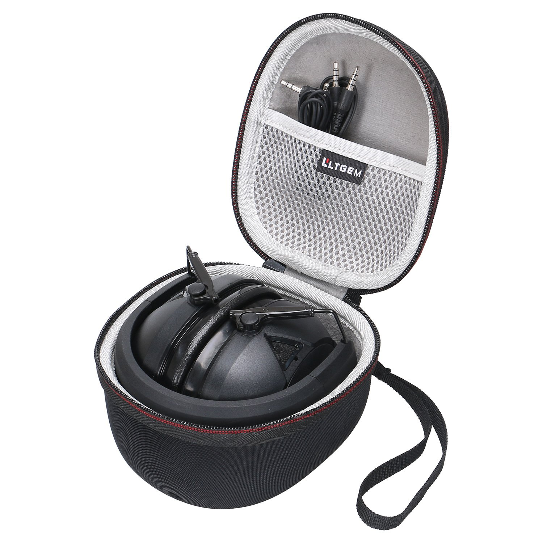 LTGEM EVA Hard Case for Peltor Sport Tactical 300 & 500 Electronic Hearing Protector - Travel Carrying Storage Bag by LTGEM
