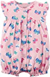 Carter's Baby Girls' Butterfly Snap Up Romper 3