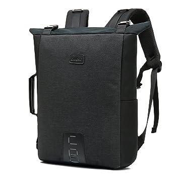 8acc507a7f Srotek 15.6 Pouces Convertible Sac à Dos pour Ordinateur Portable Sac à  Bandoulière et à Main