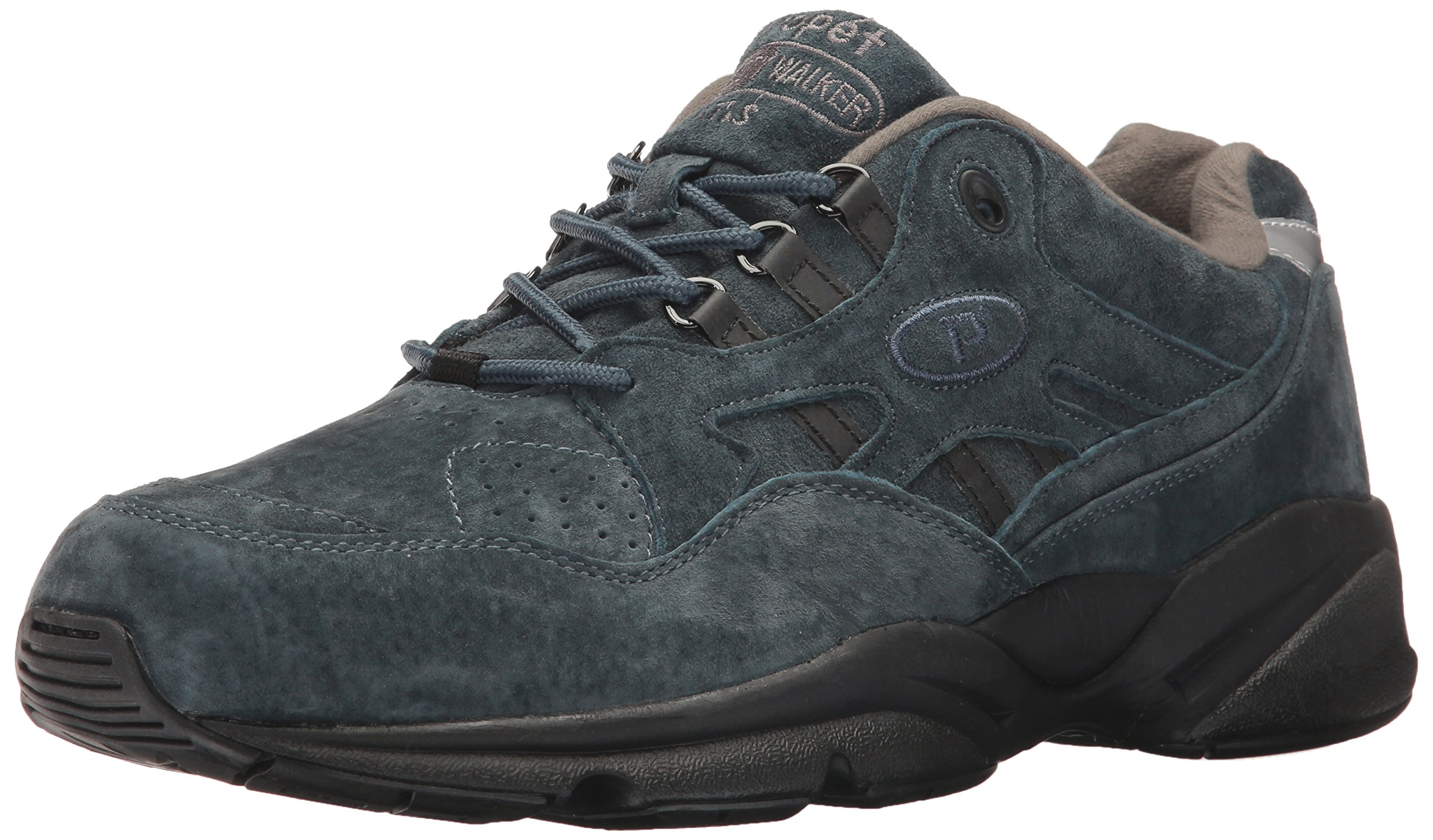 Propet Men's Stability Walker Walking Shoe, Denim Suede, 11.5 5E US by Propét