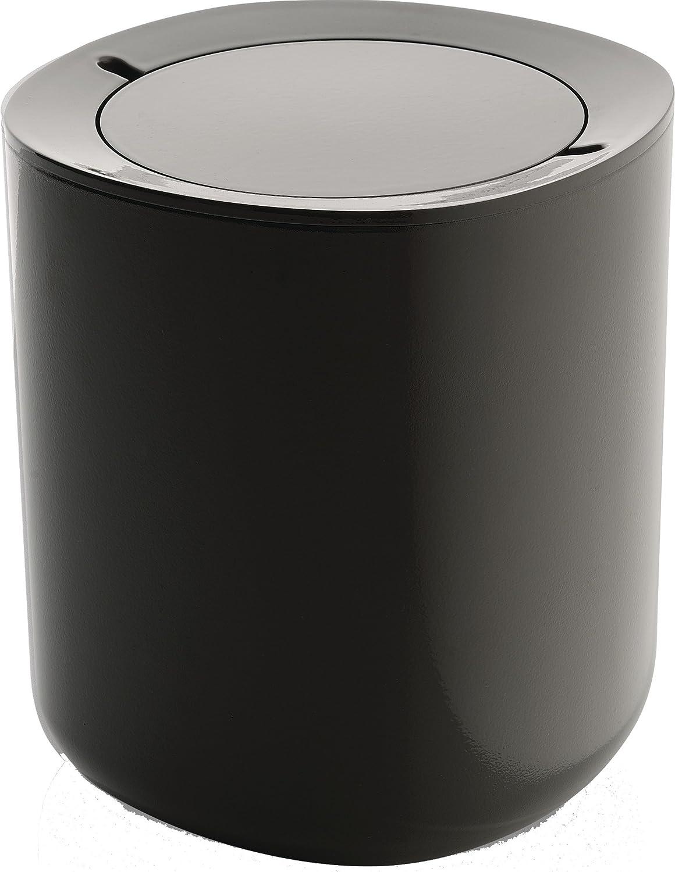 【正規輸入品】 ALESSI アレッシィ Birillo バスルーム用 ごみ箱/ダークグレー PL10 DG B00FARI5UA