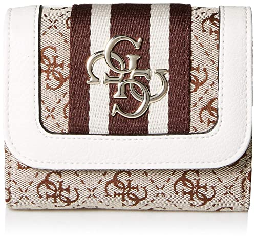 Guess - Vintage Slg Sml Trifold, Monederos Mujer, Blanco ...