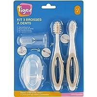 Tigex Set de cepillos de dientes para bebé