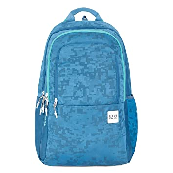 Wildcraft Wiki 2 Jacquard Backpack Blue (11951 Blue)