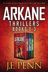 ARKANE Thriller Box-Set 1- 3: Stone of Fire, Crypt of Bone, Ark of Blood (ARKANE Boxset) Kindle Edition