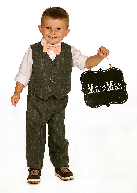 Navy Suspenders Bow Tie Set for Baby Toddler Boy Teen Men Weddings Prom Homecoming Quincea/ñera