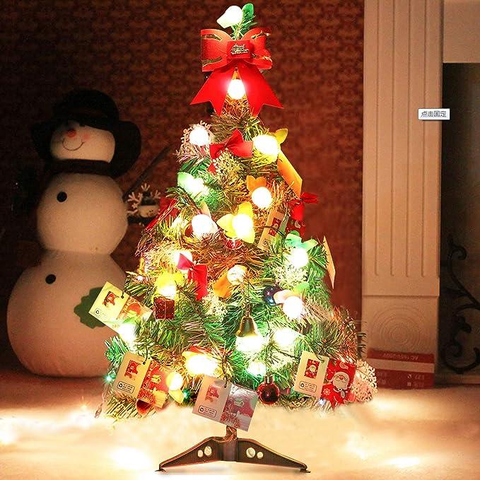 outgeek Künstlicher Weihnachtsbaum, Tannenbaum Christbaum 60cm(24