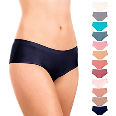 253014f1cd Alyce Intimates Women s Laser Cut Bikini 12 Pack