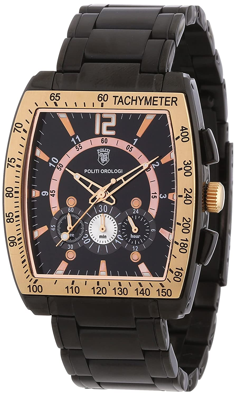 POLITI OROLOGI Herren Armbanduhr Chronograph OR3812