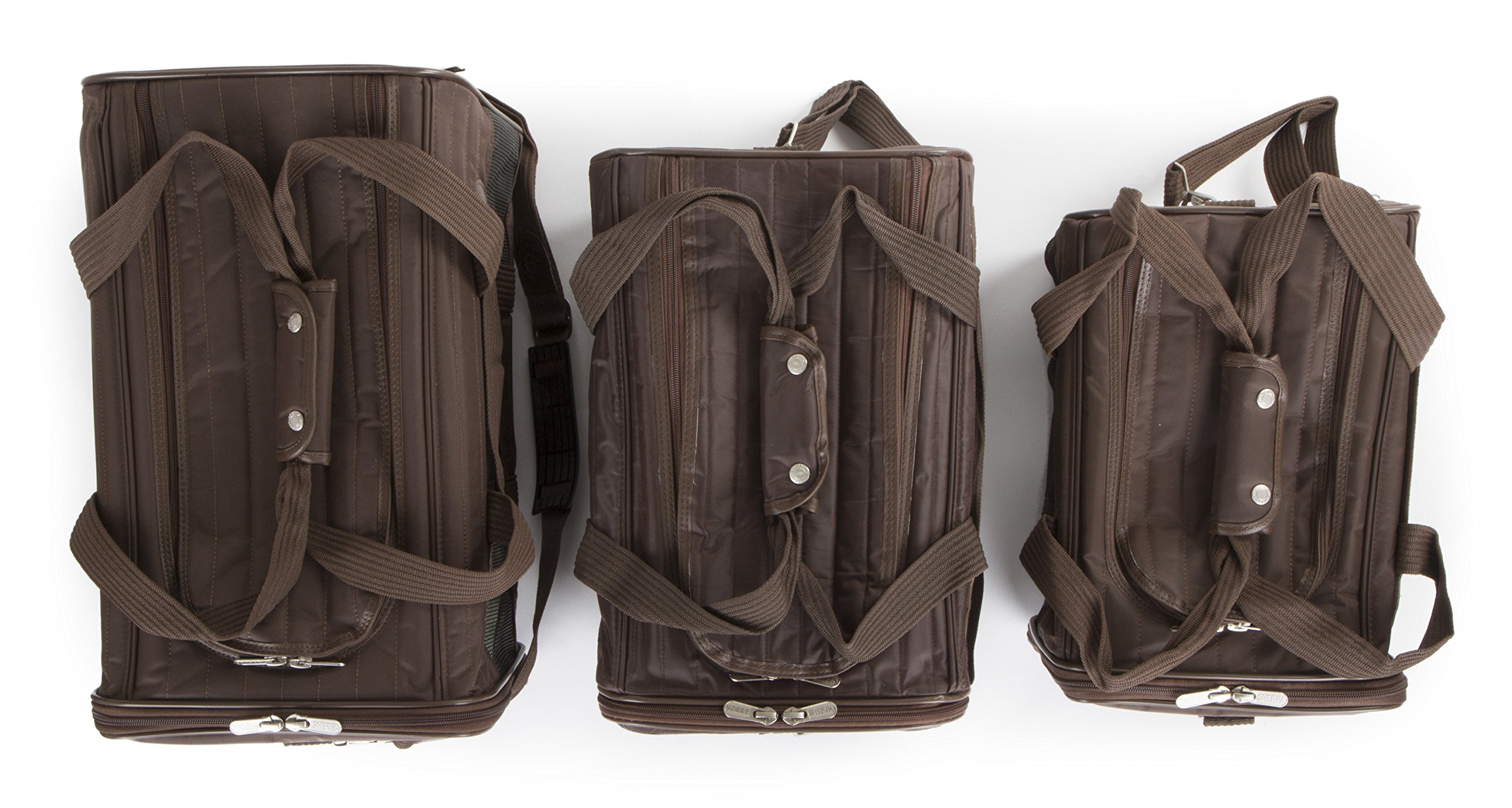 Sherpa Travel Original Deluxe Airline Approved Pet Carrier Small, Brown by Sherpa (Image #9)