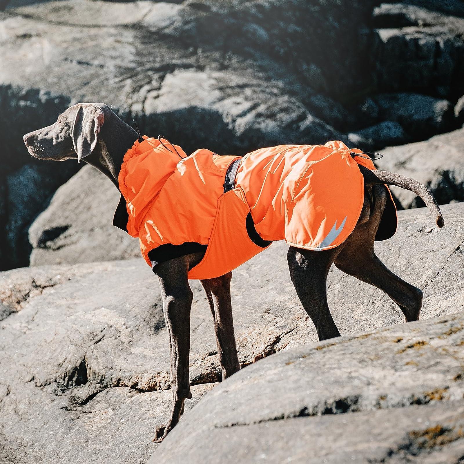 Hurtta Summit Parka Dog Winter Coat Raven 18 in HU931839 - 4