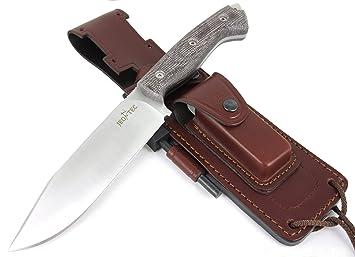 jeo-tec Nº37 Cuchillo Supervivencia Caza Monte bushcraft ...