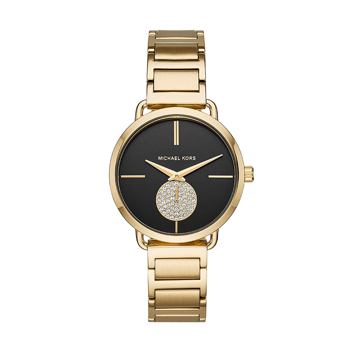 genial michael kors uhr gold gr n schmuck website. Black Bedroom Furniture Sets. Home Design Ideas