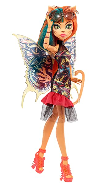 Amazoncom Monster High Garden Ghouls Wings Toralei Doll Toys