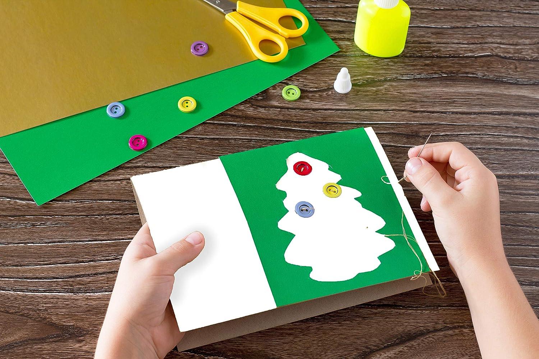 4 juegos color blanco hueso tama/ño sobre 11,5 x 16,5 cm n/ácar Tarjetas y sobres tama/ño de tarjeta 10,5 x 15 cm