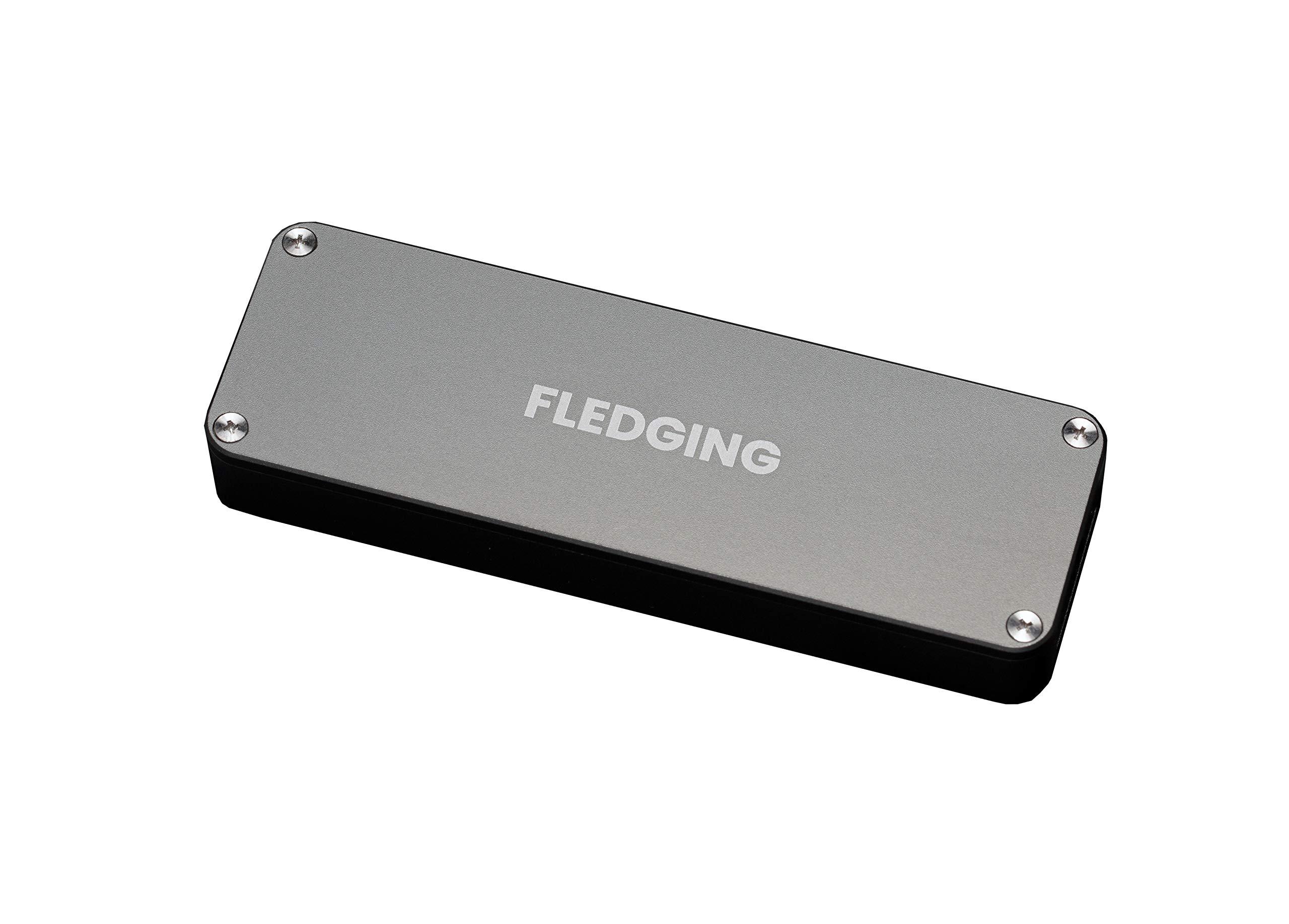 Shell SSD External Hard Drive Enclosure (0GB, Enclosure Only) - PCIe USB 3.1 Portable External SSD Enclosure m.2 to USB 3.1, Fan Cooled