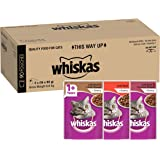 Whiskas Beef Selection in Gravy Wet Cat Food Pouch, 90x85g