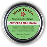 Wild Thera Herbal Cuticle Balm. Natural Cuticle Oil and Cuticle Moisturizer for Cracked and Rigid Cuticles. Cuticle…