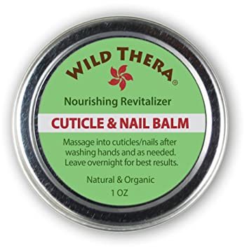 Amazon.com : Wild Thera Herbal Cuticle Balm. Best Natural Cuticle ...