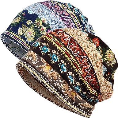 30th floor Womens Baggy Slouchy Chemo Sleep Beanie Hat Skull Cap
