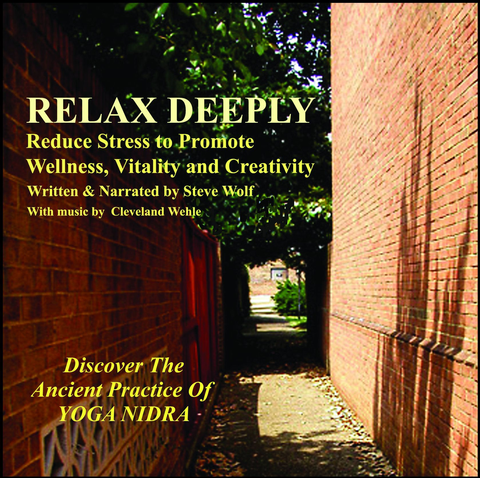 Relax Deeply: Reduce Stress To Promote Wellness, Vitality, and  Creativity