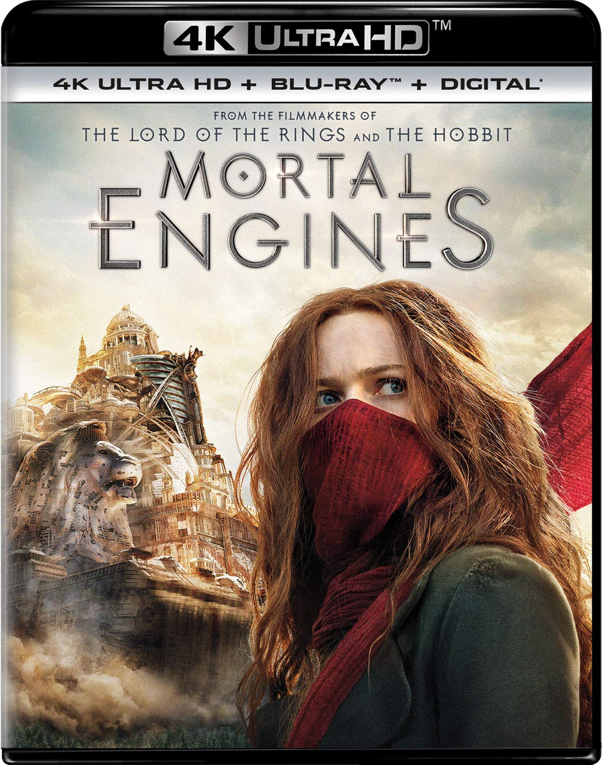 4K Blu-ray : Mortal Engines (With Blu-ray, 4K Mastering, 2 Pack, Digital Copy)