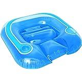 Bestway Fauteuil piscine lounge + Dossier 102 x 94 cm + Support de verre