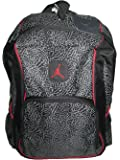 "Jordan ""Elephant"" 2-Strap Backpack - black/red, one size"