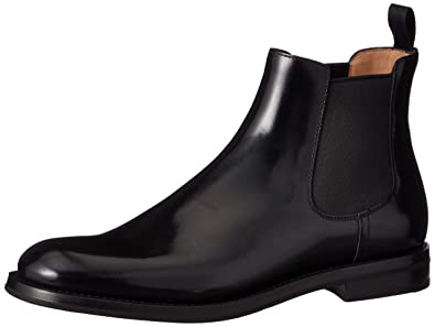 13e04eec5450 Church s Monmouth Black Leather Ankle Boots  Amazon.co.uk  Shoes   Bags